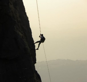 Duke's Nose Rappelling - 300 ft Mumbai Travellers