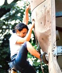Arun Samant Climbing Wall