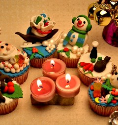 Christmas Cupcakes Workshop