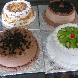 Eggless Cakes and Pastries III