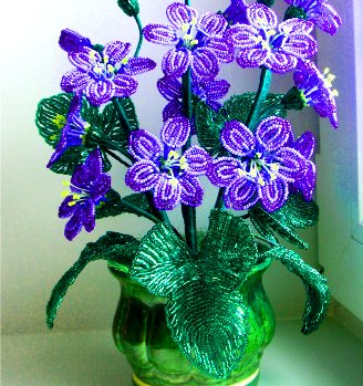 French Flower Beading