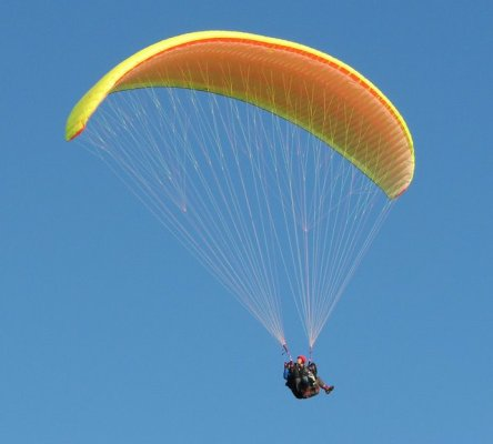 Tandem Paragliding near Mumbai Mumbai Travellers