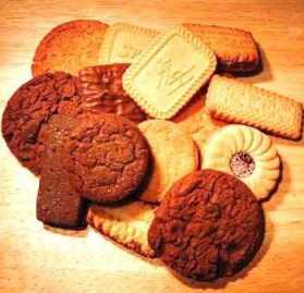Biscuits and Cookies Sweet Temptations