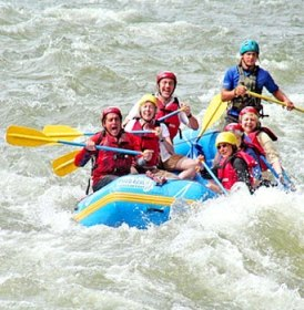 Rishikesh River rafting-Shivpuri-One night stay camp